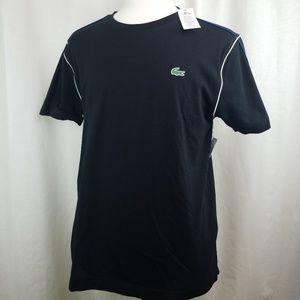 NWT Lacoste Sport Cotton Logo Men's T-shirt